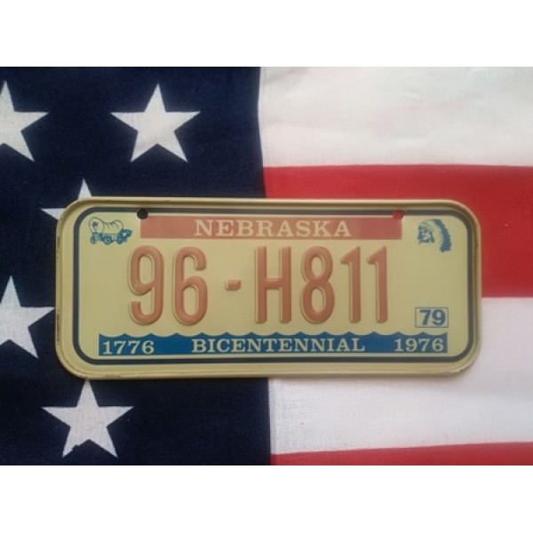 Americká SPZ na kolo r.79