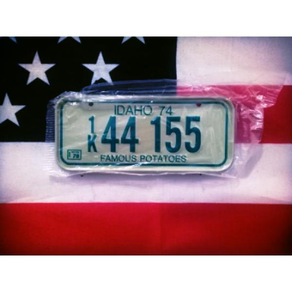 Americká SPZ na kolo 74