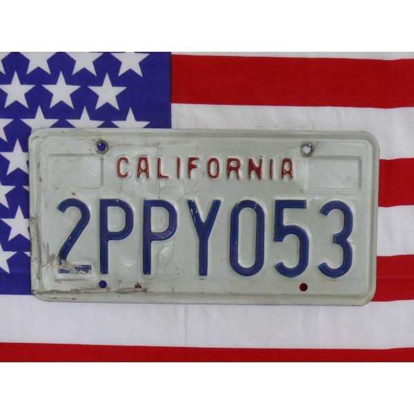 Americká spz California 2ppy053