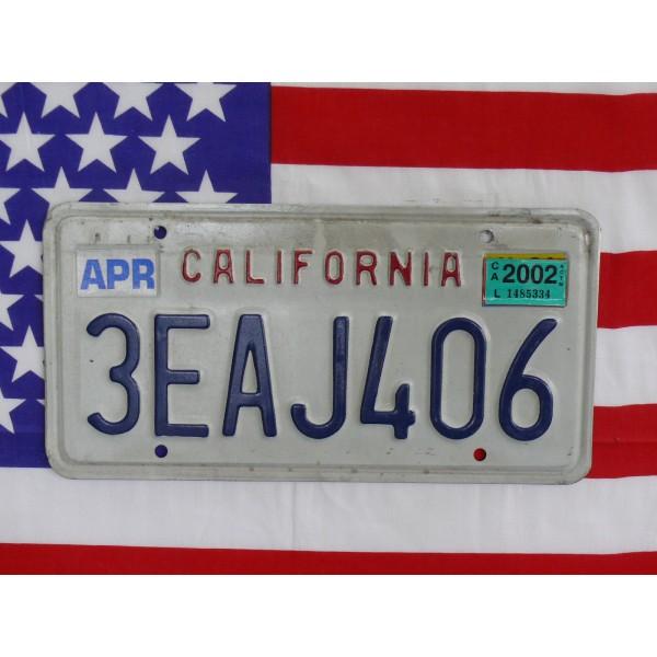 Americká spz California 3eaj406