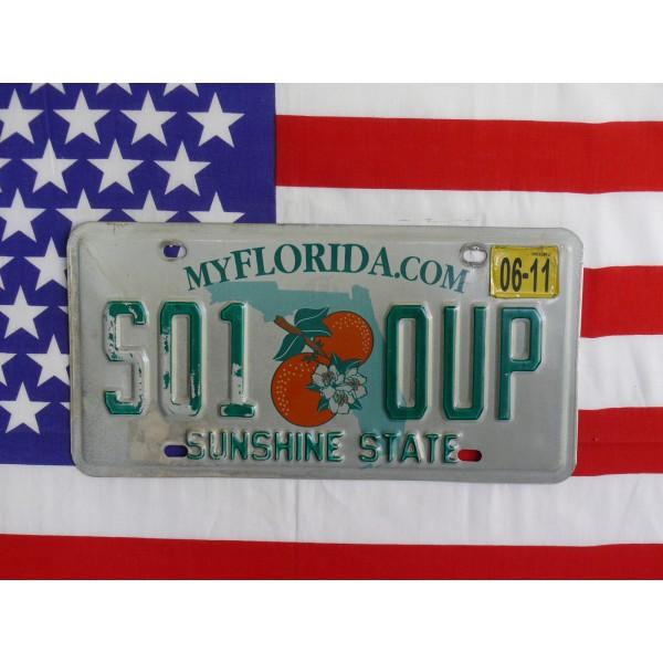 Americká spz Florida s01oup