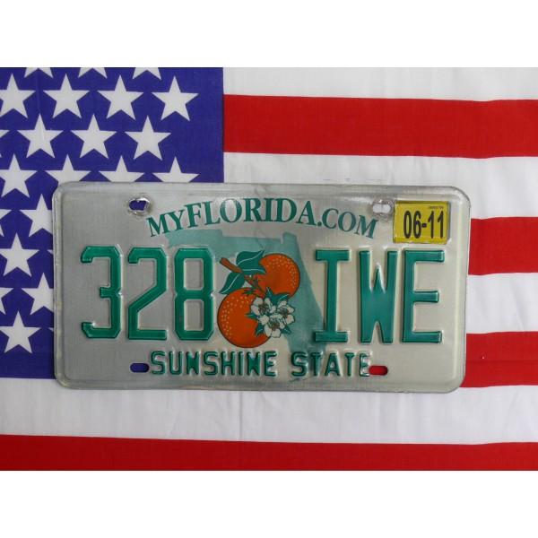 Americká spz Florida 328iwe