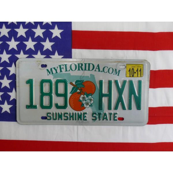 Americká spz Florida 189hxn