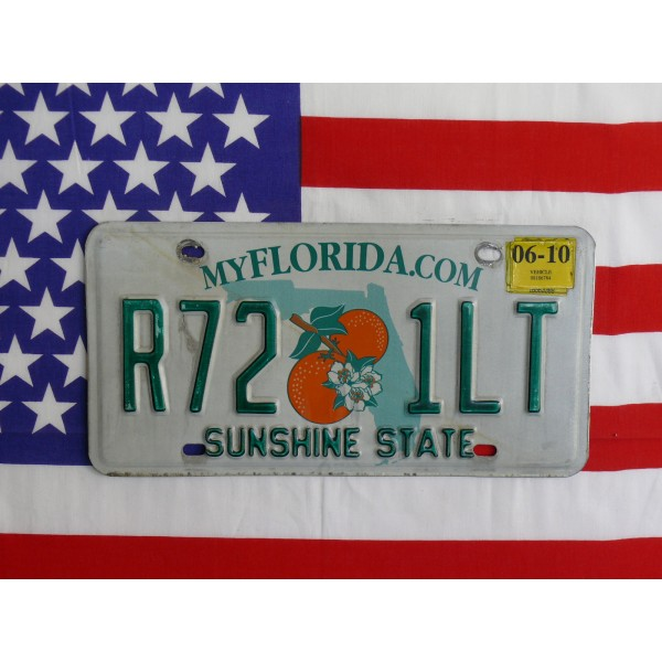 Americká spz Florida rt21lt