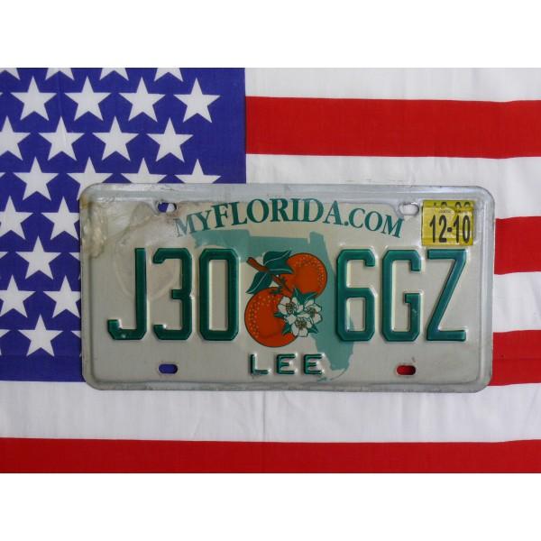 Americká spz Florida j30 6gz
