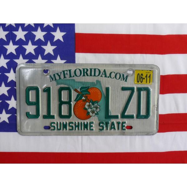 Americká spz Florida 918lzd