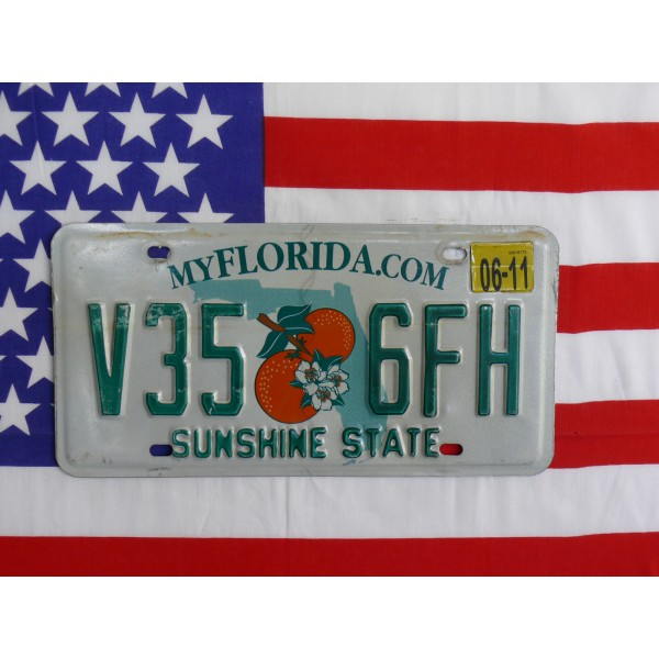 Americká spz Florida v35lfh