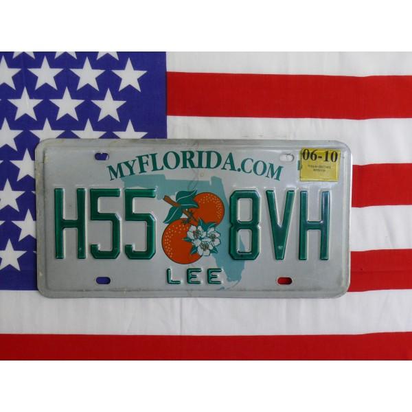 Americká spz Florida h558vh