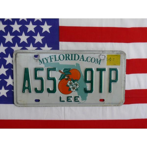 Americká spz Florida a55 9tp