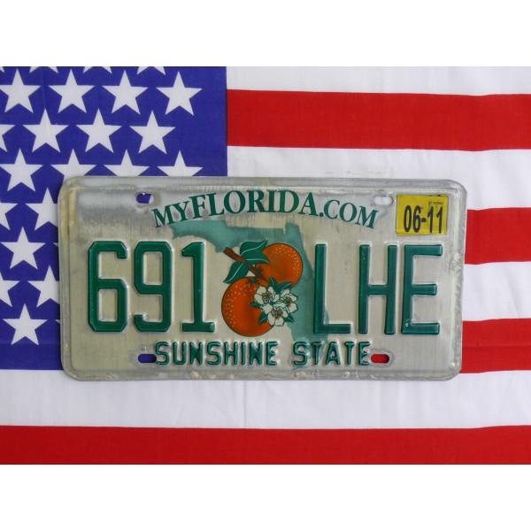 Americká spz Florida 691lhe
