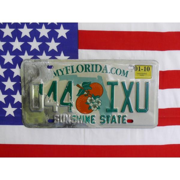 Americká spz Florida 044ixu