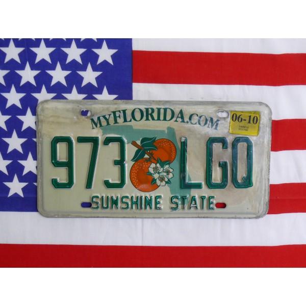 Americká spz Florida 973lgo