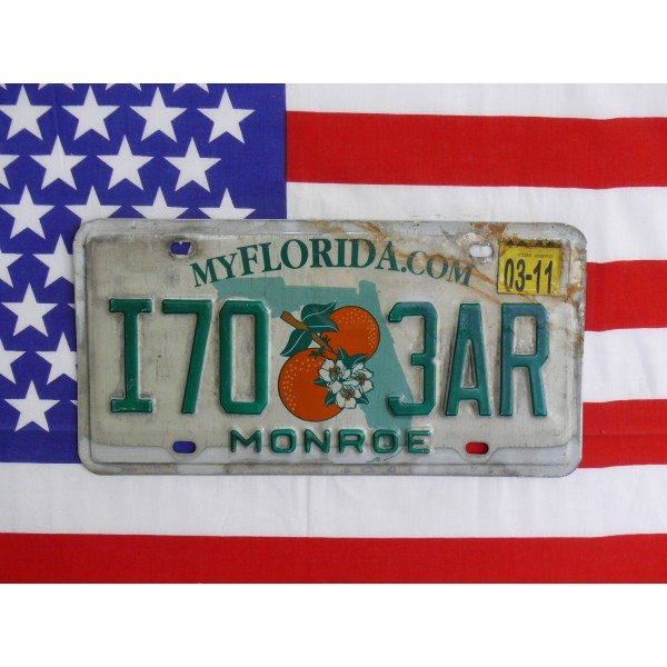 Americká spz Florida i703ar