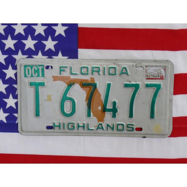 Americká spz Florida t67477