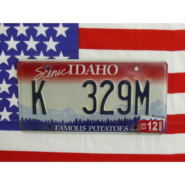 Americká spz Idaho k329m