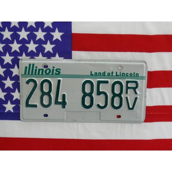 Americká spz Illinois 284858rv