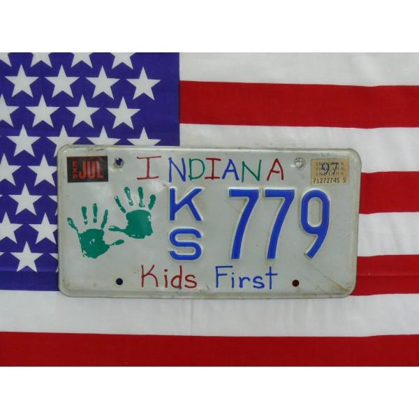 Americká SPZ Indiana kids 779