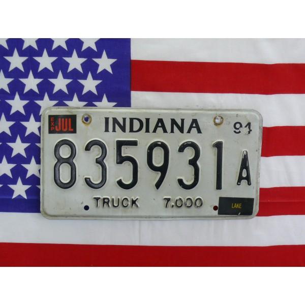 Americká SPZ Indiana 2413y