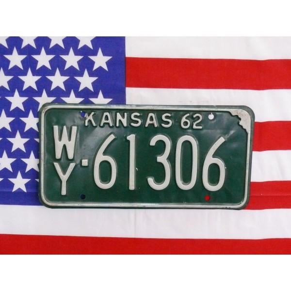 Americká SPZ Kansas