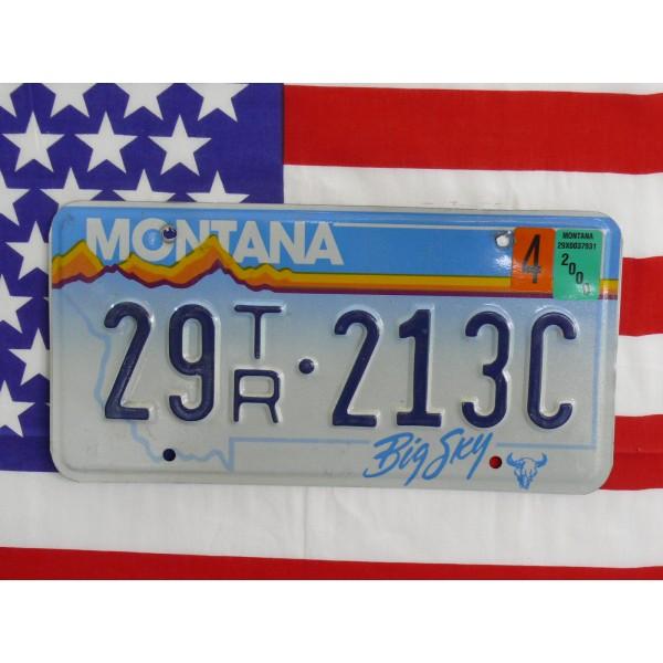 Americká spz Montana 29213c