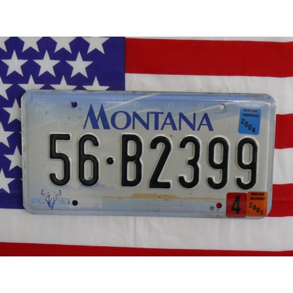 Americká spz Montana 56b2399