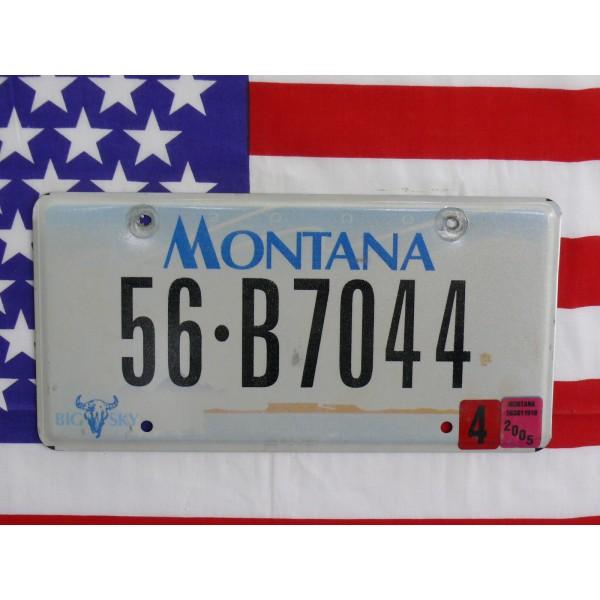 Americká spz Montana 56b7044