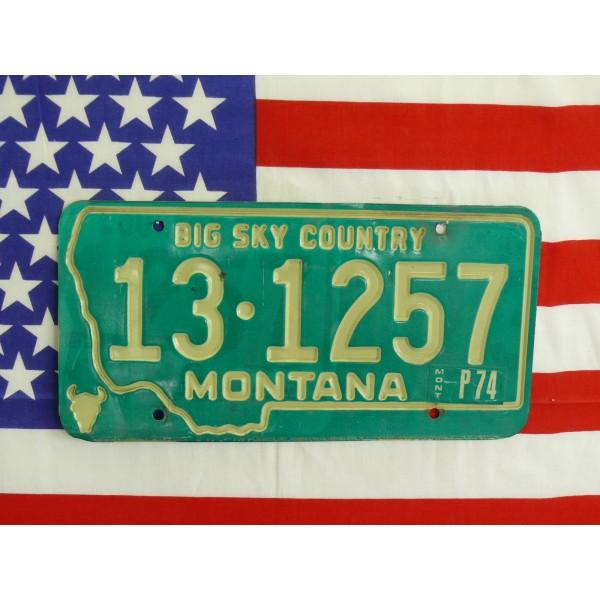 Americká spz Montana 131257