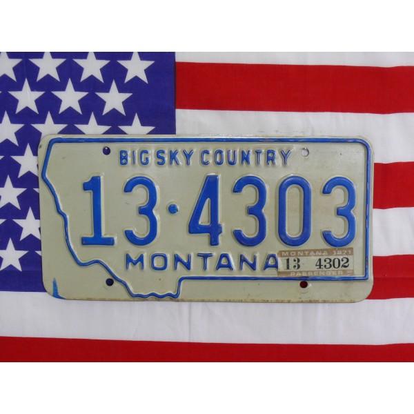 Americká spz Montana 134303