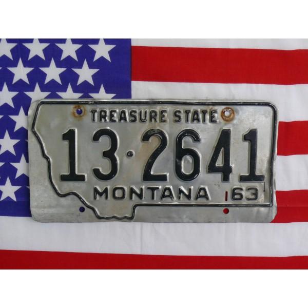 Americká spz Montana 132641