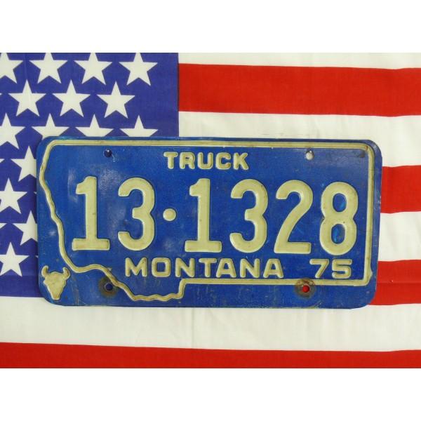 Americká spz Montana 131328