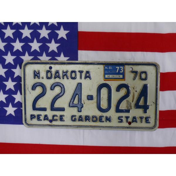 Americká spz North Dakota 224024