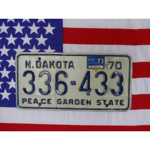 Americká spz North Dakota 336433
