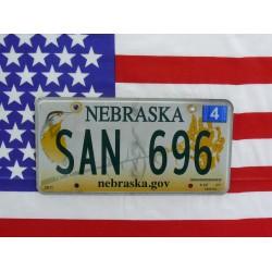 Americká spz Nebraska sun696