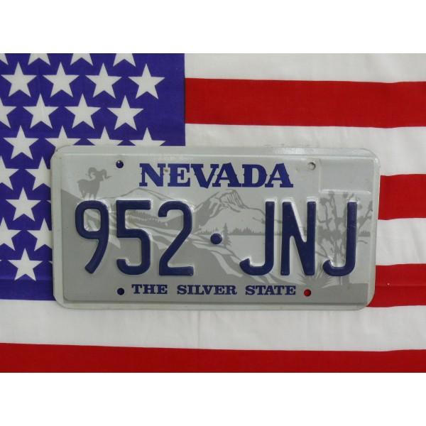 Americká spz Nevada 952jnj