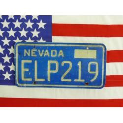 Americká spz Nevada elp219