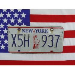 Americká spz New York x5h937