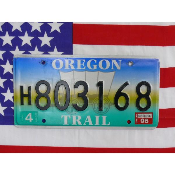 Americká SPZ Oregon 803168