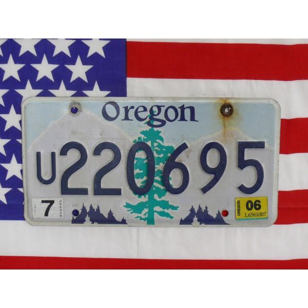 Americká SPZ Oregon 220695
