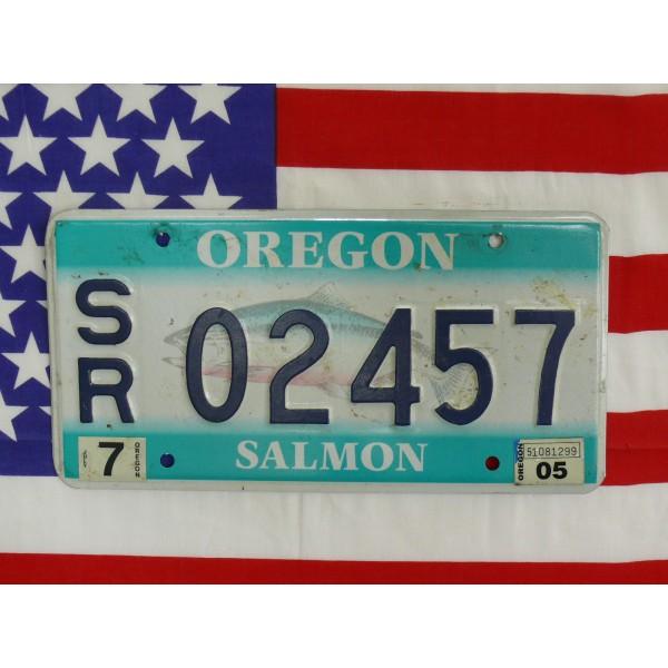Americká SPZ Oregon 02457