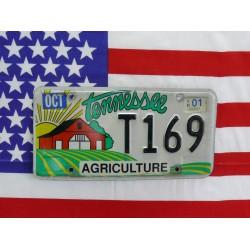 Americká SPZ Tennessee t169