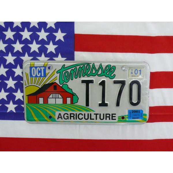 Americká SPZ Tennessee t170