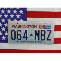 Americká SPZ Washington
