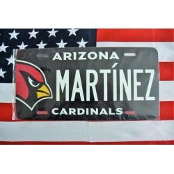 Reklamní spz Arizona Martinez