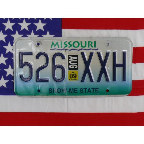Americká SPZ Missouri