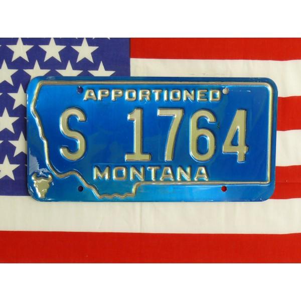 Americká spz Montana s1764