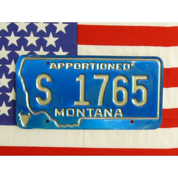 Americká spz Montana s1765