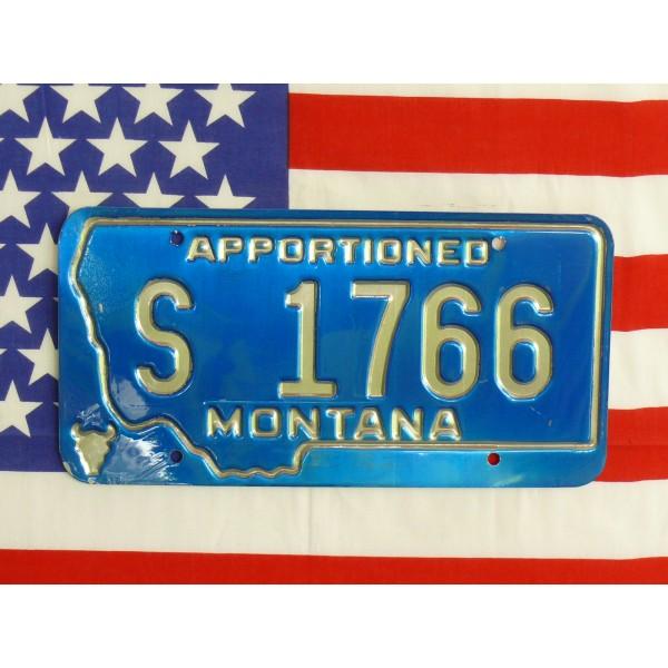 Americká spz Montana s1766