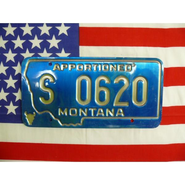 Americká spz Montana s0620