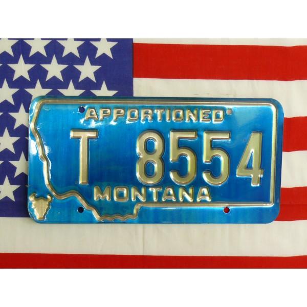 Americká spz Montana t8554