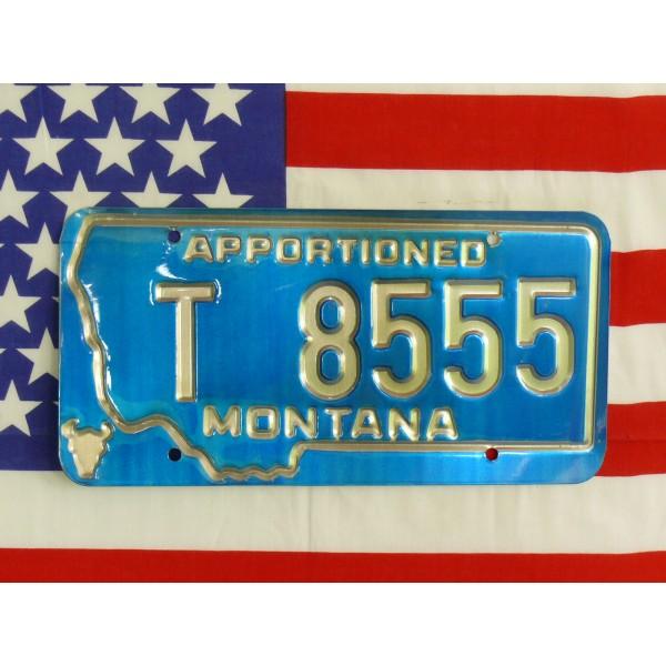 Americká spz Montana t8555